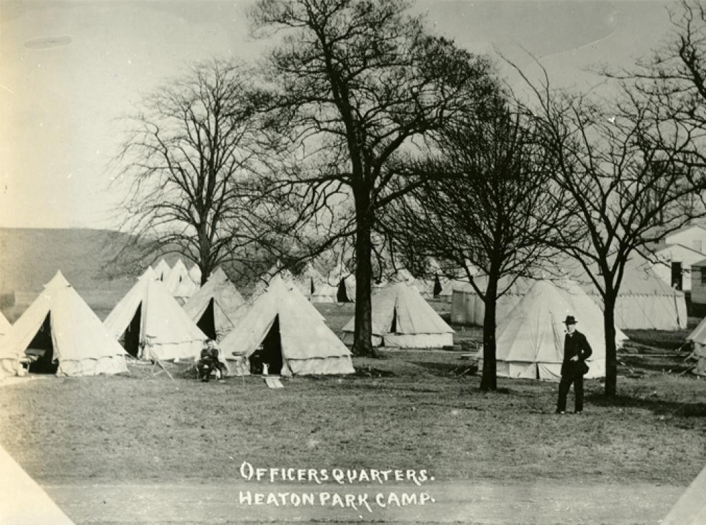 Battlefields - Heaton Park Officers