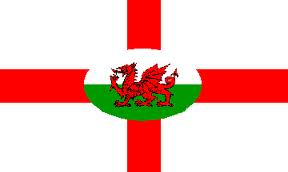 English & Welsh Flags