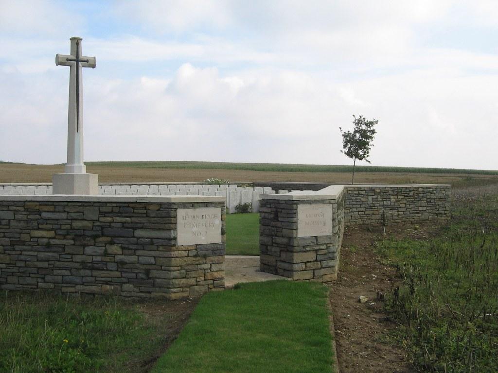 Redan Ridge Cemetery No 2 Beaumont Hamel