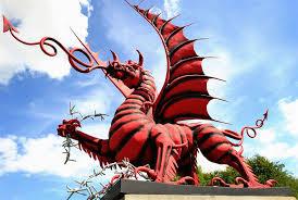 Welsh Dragon Memorial