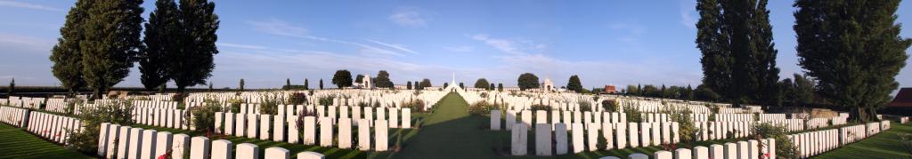 Flanders Tyne Cot Cemetery