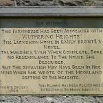 Pennine Way - Bronte Plaque
