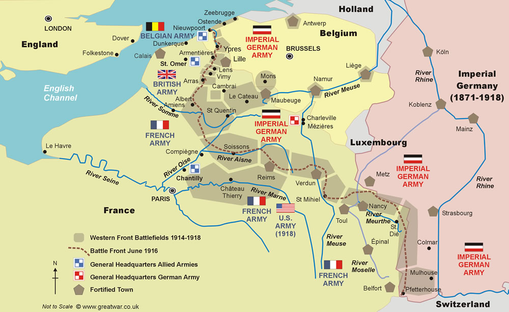 Blue Fox Walks – Belgium & France (tba)