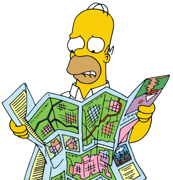 Website - Homer Reading Map
